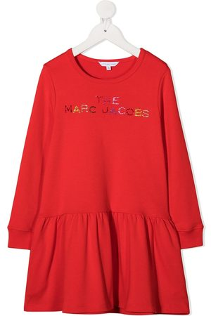Marc Jacobs Logo embellished shift dress