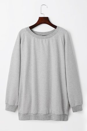 YOINS Women Long Sleeve - Round Neck Long Sleeves Casual Sweatshirt