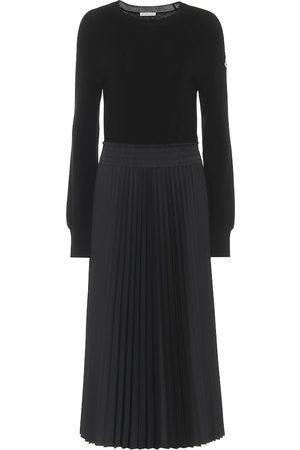 Moncler Wool midi dress