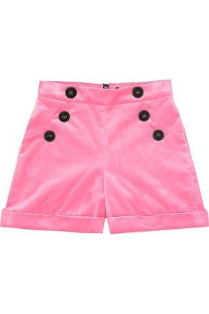 Balmain Velvet shorts