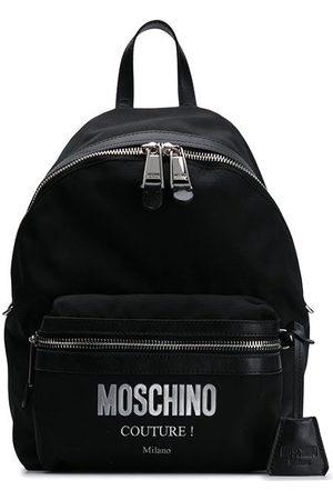 Moschino Logo appliqué backpack