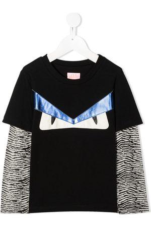 Wauw Capow Tom Temper layered T-shirt