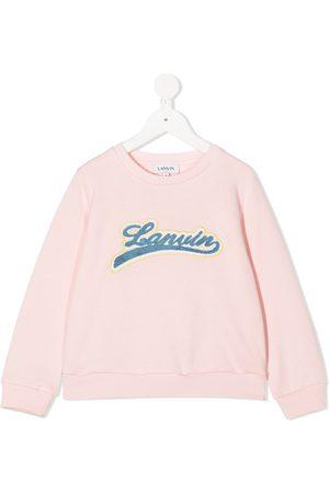 Lanvin Logo embroidered sweatshirt