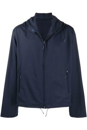 Y-3 Hooded zip-up track jacket
