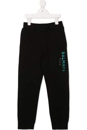 Balmain Logo print track trousers