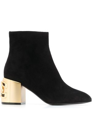 Casadei 75mm ankle boots