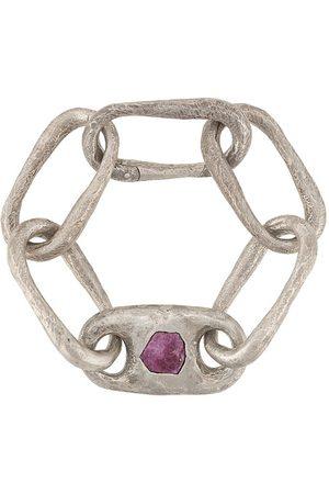 PARTS OF FOUR Medium link bracelet