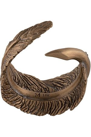 M. COHEN Feather ring