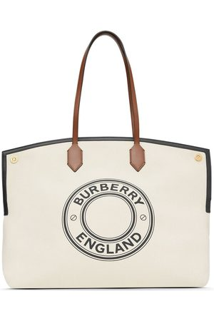 Burberry Graphic logo Society tote bag