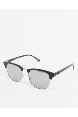 Vans Dunville sunglasses in matte with silver lens