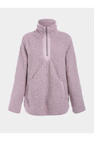 YOINS Side Pockets Teddy Long Sleeves Sweatshirt