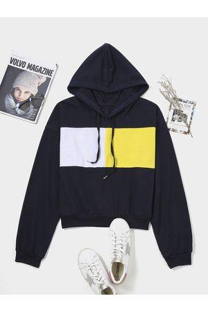 YOINS Tie-up Design Long Sleeves Hoodie
