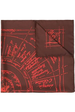 Hermès Pre-owned abstract print scarf