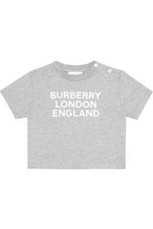 Burberry Baby logo cotton T-shirt
