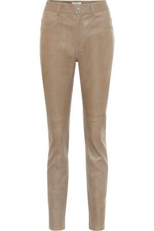 Isabel Marant, Étoile Taro high-rise skinny leather pants