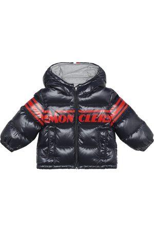 Moncler Baby logo down coat