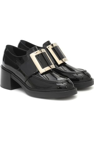 Roger Vivier Viv' Rangers patent leather loafers
