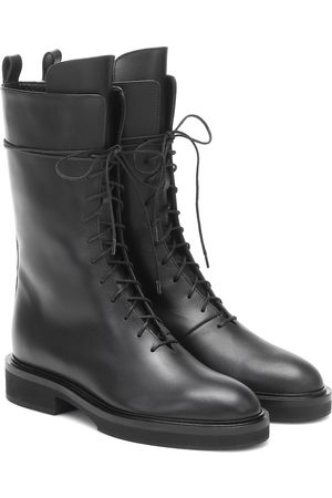 Khaite Conley leather boots