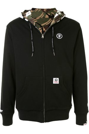 AAPE BY *A BATHING APE® Zip-through reversible sweatshirt
