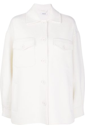 P.a.r.o.s.h. Fringed chest-pocket shirt jacket
