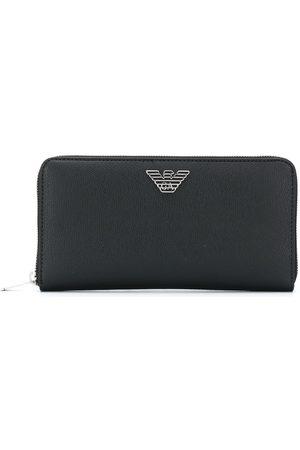Emporio Armani Embossed logo wallet