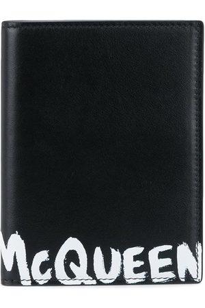 Alexander McQueen McQueen Graffiti folding cardholder