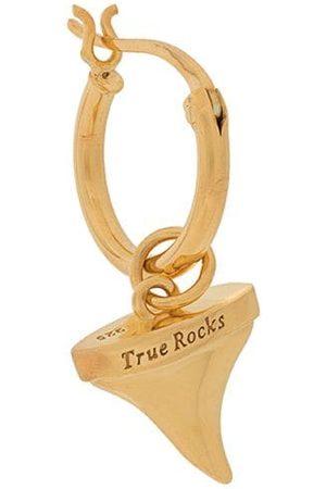 TRUE ROCKS Shark Tooth single hoop earring
