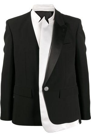 Balmain Layered long-sleeve blazer