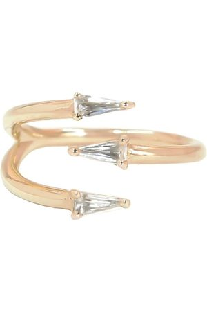 BONDEYE JEWELRY 14kt rose gold topaz Bia ring