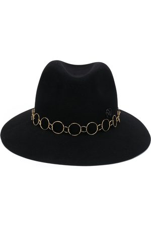 Le Mont St Michel Hoop-detail fedora hat
