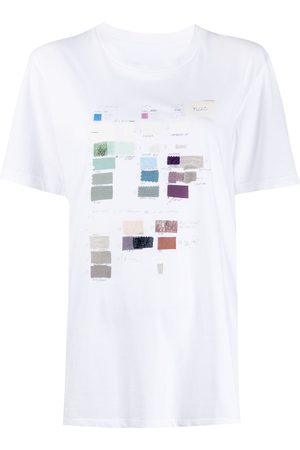 MM6 MAISON MARGIELA Swatch print T-shirt