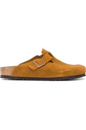 Birkenstock Suede buckle slippers