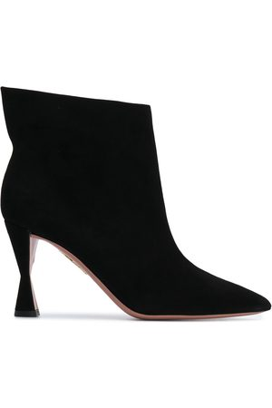 Aquazzura Pointed suede ankle boots