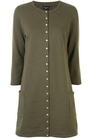 AGNÈS B. Long-sleeved cotton dress