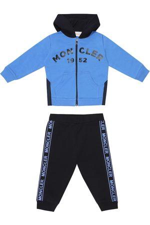 Moncler Hoodies - Baby hoodie and trackpants set