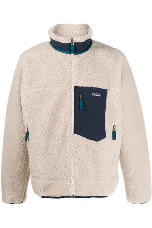 Patagonia Men Hoodies - Zip-up shearling jacket