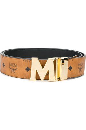 MCM Women Belts - Claus reversible belt