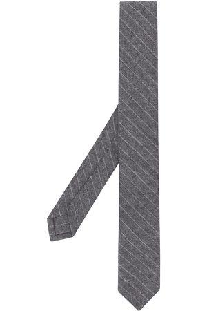 Thom Browne Narrow chalk-stripe tie