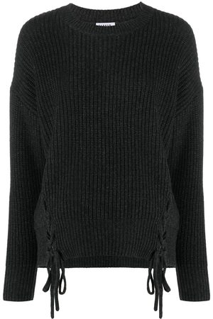 P.a.r.o.s.h. Tie-fastening ribbed jumper