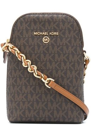 Michael Kors Small logo-print crossbody bag