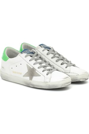 Golden Goose Exclusive to Mytheresa – Superstar neon leather sneakers