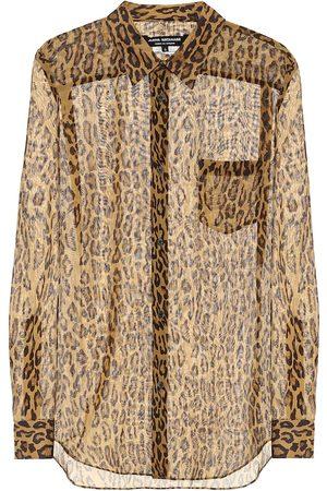 JUNYA WATANABE Women Long Sleeve - Leopard-print shirt