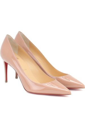 Christian Louboutin Kate 85 patent leather pumps