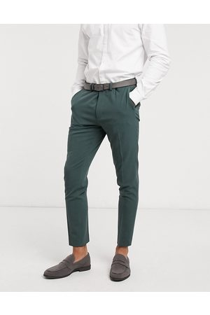 ASOS Super skinny suit trousers in forest