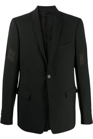 Fendi FF-logo panel suit jacket