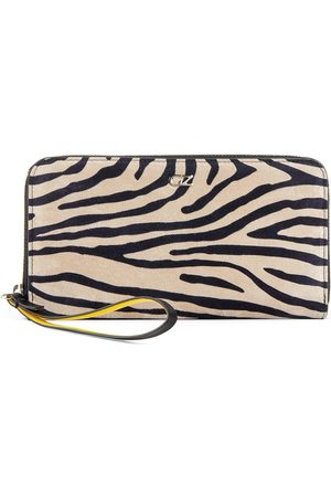 Giuseppe Zanotti Paula zebra-print wallet