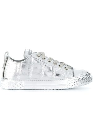 Giuseppe Zanotti Blabber metallic low-top sneakers
