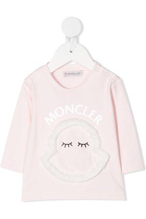 Moncler Logo appliqué T-shirt
