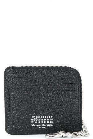 Maison Margiela Four-stitch zipped cardholder