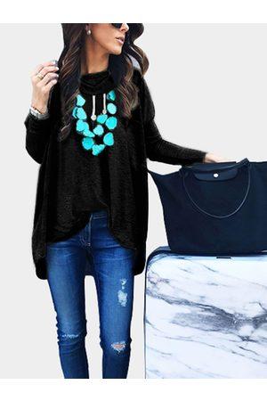 YOINS Women Long Sleeve - Causal Hooded Design Pullover Long Sleeves Hoodie